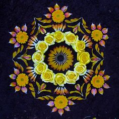 Kathy Klein - #flower #mandala