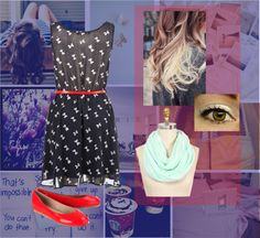 """Simple day(:"" by vanessa1313 ❤ liked on Polyvore"