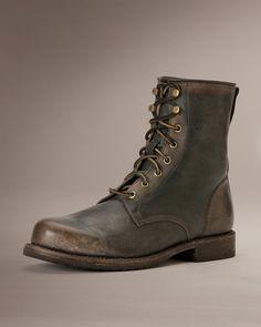 Wayde Combat - Men_Boots_Work - The Frye Company
