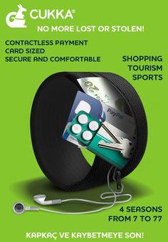 NON PIÙ PERSO O RUBATO! Scopri come trasportare contanti, carte di credito e chiavi al polso https://www.paypal.it/acquisti/cukka_2x19_99%E2%82%AC/