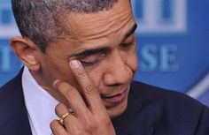 An emotional Obama: 'Our hearts are broken.' Prayers for the victims of Sandy Hook Elementary school shooting.