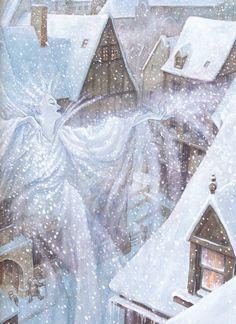 """.Иллюстратор PJ Lynch.Автор Г.Х.Андерсен.Сказка """"Снежная королева"""".Страна Ирландия.Год издания 1993.Издательство Andersen Press.Купить книгу или переиздание..OZON.ru.labirint.ru.amazon.com............................"""