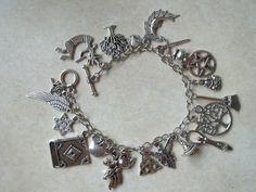 Magickal Charm Bracelet by CellDara on Etsy, $25.00
