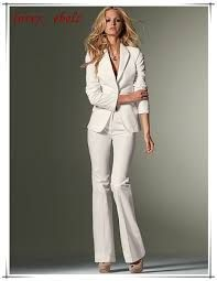 Image result for white suit for women