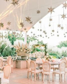 Indian-American Fusion Wedding at Rosewood San Miguel de Allende in Mexico Read More: www. Star Wedding, Wedding Night, Wedding Table, Dream Wedding, Wedding Mandap, Wedding Receptions, Mexican Wedding Reception, Wedding Parasol, Indian Wedding Theme