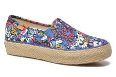 Baskets Triple Decker Liberty Floral Keds vue 3/4