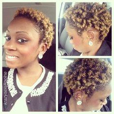 "Beautiful Coilz by @krazysexykoolne ""#sundayfunday #churchflow  hair2mesmerize  naturalhair"
