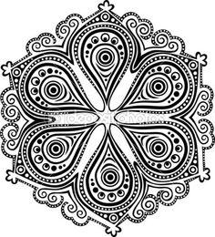depositphotos_20878741-Indian-ornament-kaleidoscopic-floral-pattern-mandala..jpg (407×449)