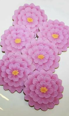 Flower cookies.... simply awesome