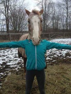 This horse who would frankly rather devour your entire head than spend another minute with you as friends. | 35 Animals Who Have No Interest In Being Friends With You