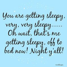 Night All.