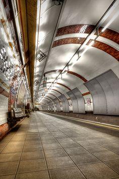 London Underground by Mark Carline