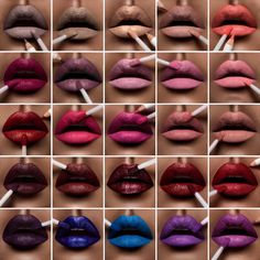 OCC Lip Tars 2015 - Ready To Wear collection  #occ #liptar #LipTarRTW