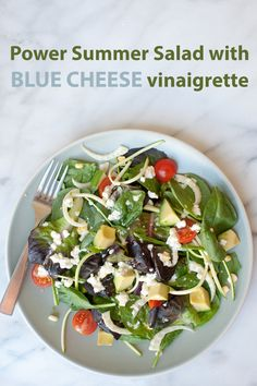 Blue Cheese, corn, fennel and tomatoes all come together with this ...