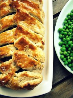 Spiced beef pie with walnut pastry...making this!  not to hard!