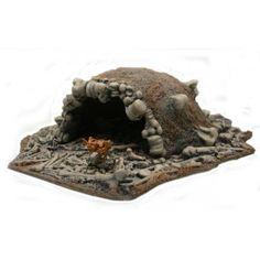 Armorcast TKB001 28mm Resin Troll Cave w/ Bone Rubble Fantasy Terrain NEW #Armorcast