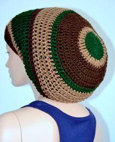 Mega Rasta Tam/ Crochet Dread tam