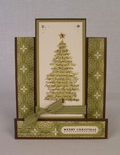 cards made with the Stampin' up set evergreen - Google Search