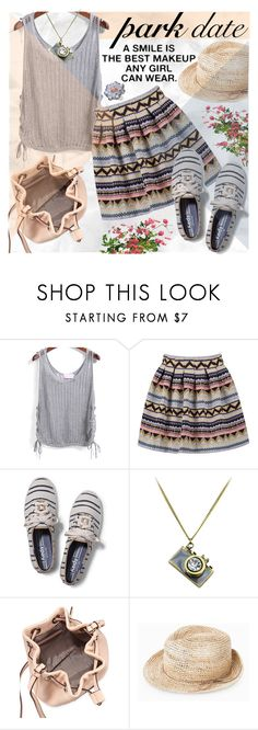"""""""Date in the Park"""" by katjuncica ❤ liked on Polyvore featuring Keds, Marc by Marc Jacobs, MANGO, Carlo Viani and ParkDate"""