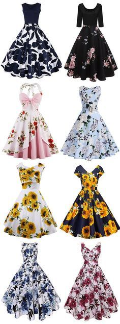 New vintage fashion women inspiration dresses Ideas Vintage Fashion 1950s, Vintage 1950s Dresses, Vestidos Vintage, Mode Vintage, Vintage Outfits, Vintage Dresses For Teens, Retro Dress, Trendy Dresses, Cute Dresses