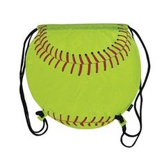 Katie and Holly this is calling your name! Fastpitch Softball Cinch Bag.