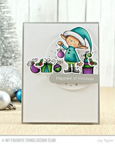 MFT Sketch 308! | happiest of holidays | Simple By Design by Joy Taylor
