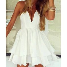 Sexy Strappy Summer Dress
