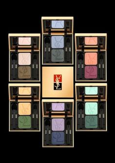 YSL MAKEUP AND SKIN CARE | Make up, beauty, Yves Saint Laurent eyeshadow duo - How to achieve ...