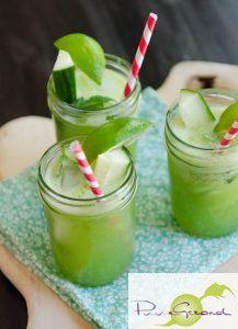 Een platte buik met gember, komkommer en muntlimonade – Puur Gezond