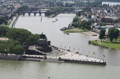 Koblenz - the Rhine and the Mosel