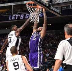 DeMarcus Cousins got game. They still struggle against the Spurs