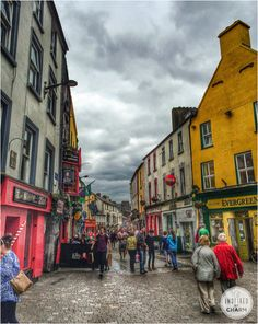 The town of Galway, Ireland is considered to by the Ireland's Cultural Heart for its vibrant culture, festivals and more.