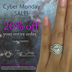 7 Hours left 20% off Sale on all Engagement by TigerGemstones