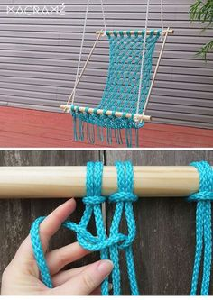 Creative DIY Macrame Chair Decor to Try ASAP is part of Macrame diy - Macrame chair will give you a long lasting touch Enjoy your time of reading book or listening to the music … Pot Mason Diy, Mason Jar Crafts, Bottle Crafts, Macrame Chairs, Diy Hammock, Hammock Chair, Hammocks, Crochet Hammock, Hammock Swing