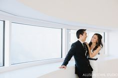 Engagement photography at the Crocker Art Museum by Alison Stahl Photography.