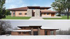 Villa, residenze di lusso, villa di campagna, Parma, ReCS Architects