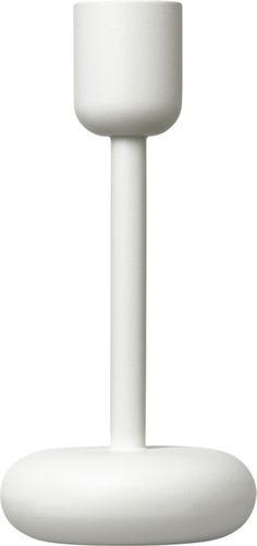 Iittala - Nappula Candleholder 183 mm white