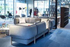 #Moroso Orgatec 2014 Tender - Urquiola Couch, Furniture, Home Decor, Settee, Decoration Home, Sofa, Room Decor, Home Furnishings, Sofas