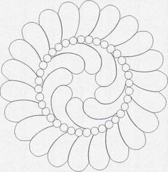 Feather wreath with pebble ring