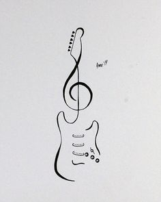 Flash - Stratocaster Guitar by AprilsInk on DeviantArt . - Tattoo Flash – Stratocaster Guitar by AprilsInk on DeviantArt -Tattoo Flash - Stratocaster Guitar by AprilsInk on DeviantArt . - Tattoo Flash – Stratocaster Guitar by AprilsInk on DeviantArt - Art Drawings Sketches Simple, Music Drawings, Pencil Art Drawings, Drawing Art, Drawing Ideas, Guitar Tattoo Design, Music Tattoo Designs, Music Tattoos, Guitar Drawing