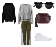 """""""HS beauty"""" by ripsimsafarian ❤ liked on Polyvore featuring Vans, BLK DNM and Anya Hindmarch"""
