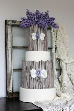 Featured in Cake Central Magazine! by WithLoveAndConfection on Cake Central Round Wedding Cakes, Wedding Cake Rustic, Unique Wedding Cakes, Unique Cakes, Beautiful Wedding Cakes, Gorgeous Cakes, Wedding Cake Designs, Pretty Cakes, Amazing Cakes
