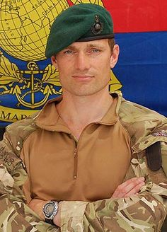One of Henry's brothers...Royal Marine Nick Cavill