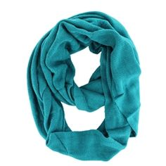 #Fashion #Cowl #Infinity Solid Color Warm #Cozy Circle #Loop #Wrap #Scarf in #Teal