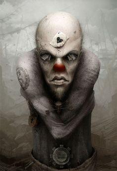 Creepy Clown  ~