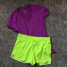Nike Athletic Bundle Top is a Large. Shorts are a Medium. Both included! Excellent condition. Worn once. No stains or rips. Ships Immediately! NO TRADES. Nike Tops Tees - Short Sleeve
