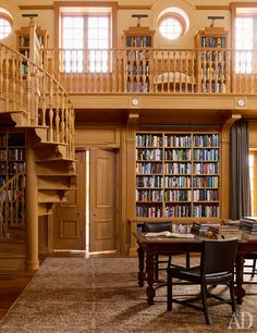 Library Room, Dream Library, Library Ideas, Magical Library, Beautiful Library, Beautiful Homes, Beautiful Buildings, Architectural Digest, Architectural Styles