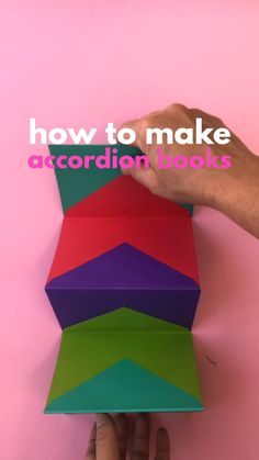 Kearn how to make an Accordion Book out of envelopes!