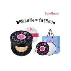 Banila Co x SNSD Taeyeon Happy Collection Taeyeon CC Cushion #BanilaCo