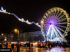 Hungary, Budapest, Ferris Wheel, Fair Grounds, Travel, Trips, Viajes, Traveling, Tourism